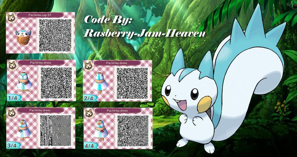 Black dress qr code pokemon