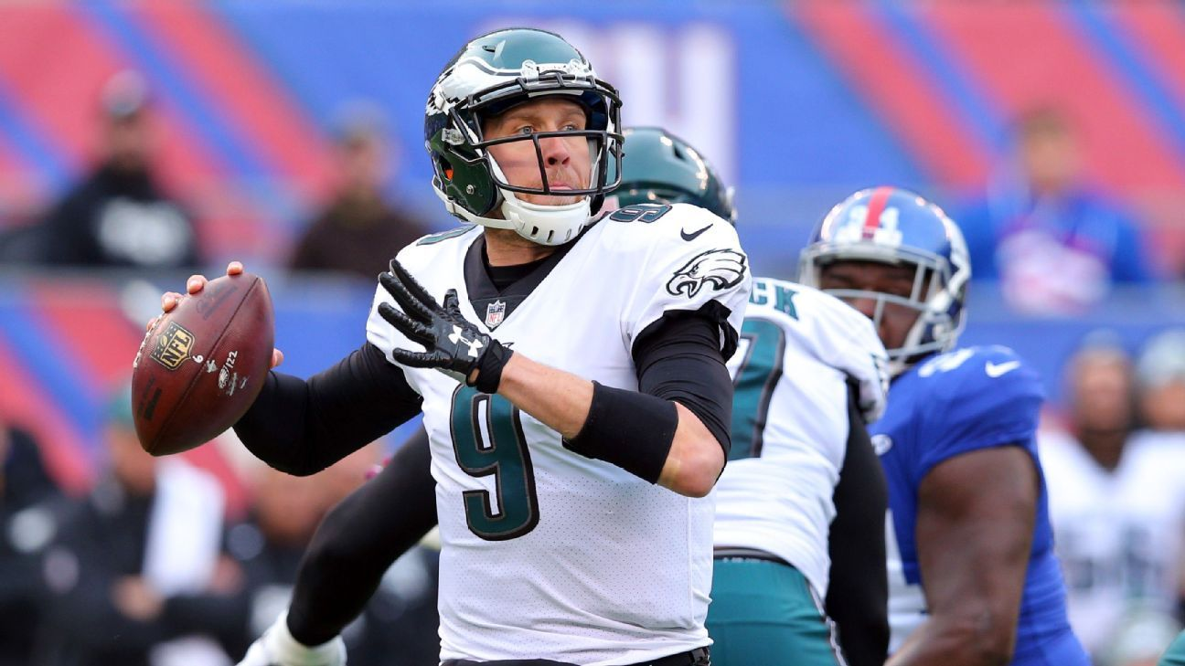 No Carson No Problem Nick Foles Keeps Eagles On Winning Track Eagles Nfl Nfl Sports Wallpapers