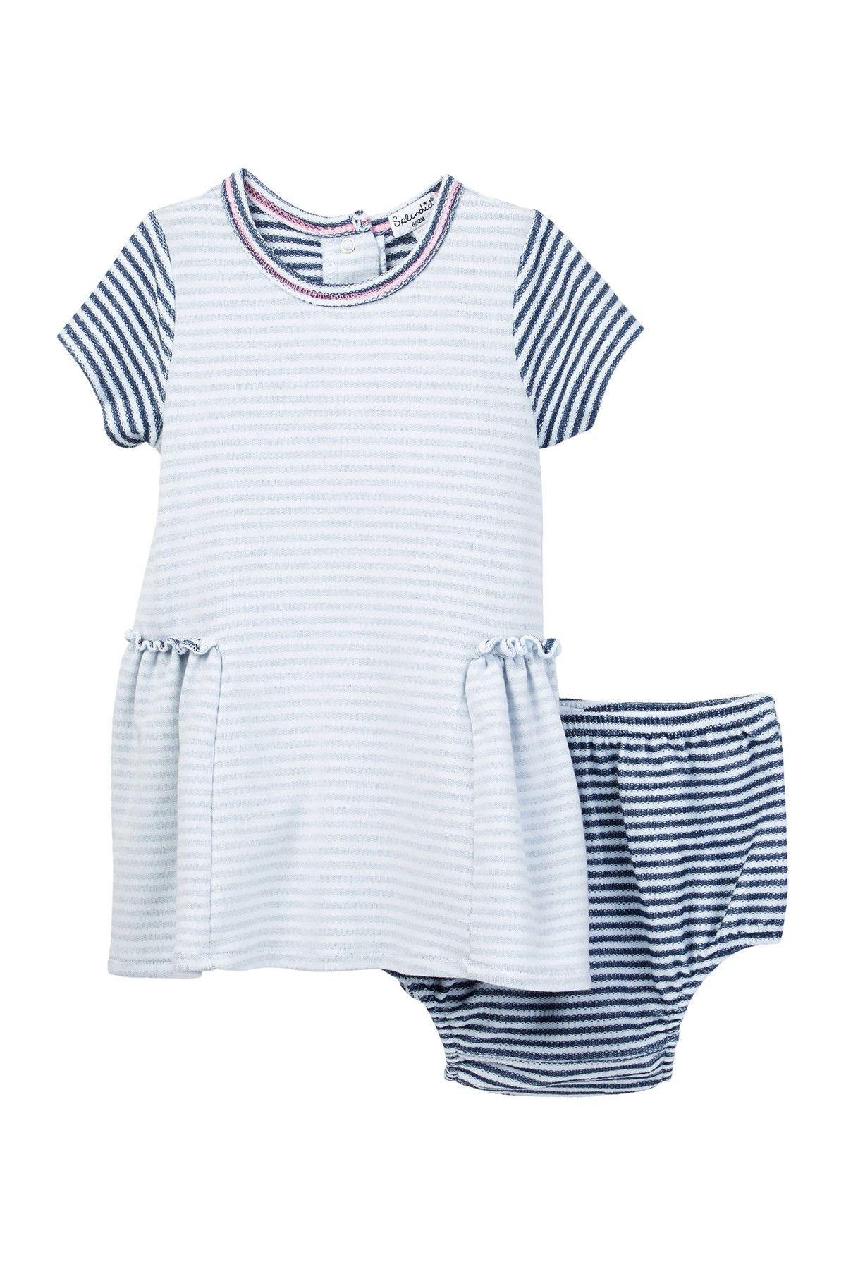 Splendid Loose Knit Dress & Bloomer Set Baby Girls