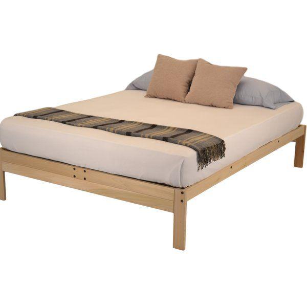 Nomad 2 Platform Bed Platform beds, Guest room office and Latex