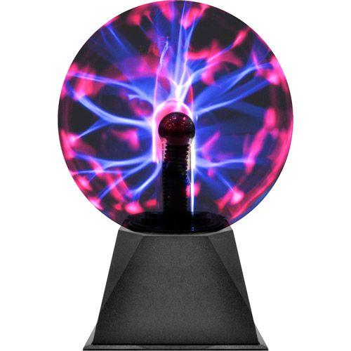 Decorative Bright Multi Color Globe Plasma Lamp Black 6 Walmart Com Lamp Ball Lamps Table Lamp