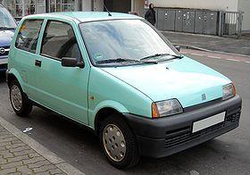 Fiat Cinquecento 1991 Fiat 1990 1999 Car Models Fiat