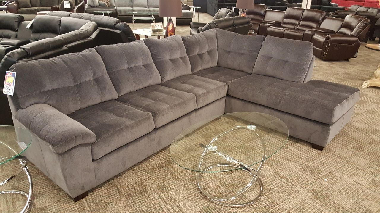 2pc Sectional In Polyester 3 Colors Phoenix Sofa Factory