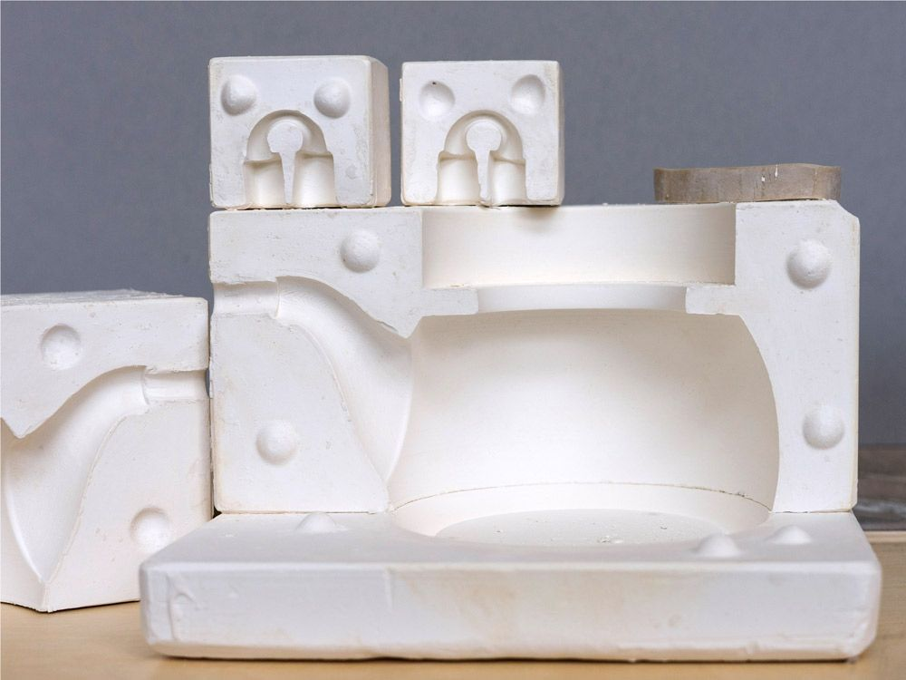 A Slipcasting Mold For The Loop Teapot By The Bright Angle Seramik