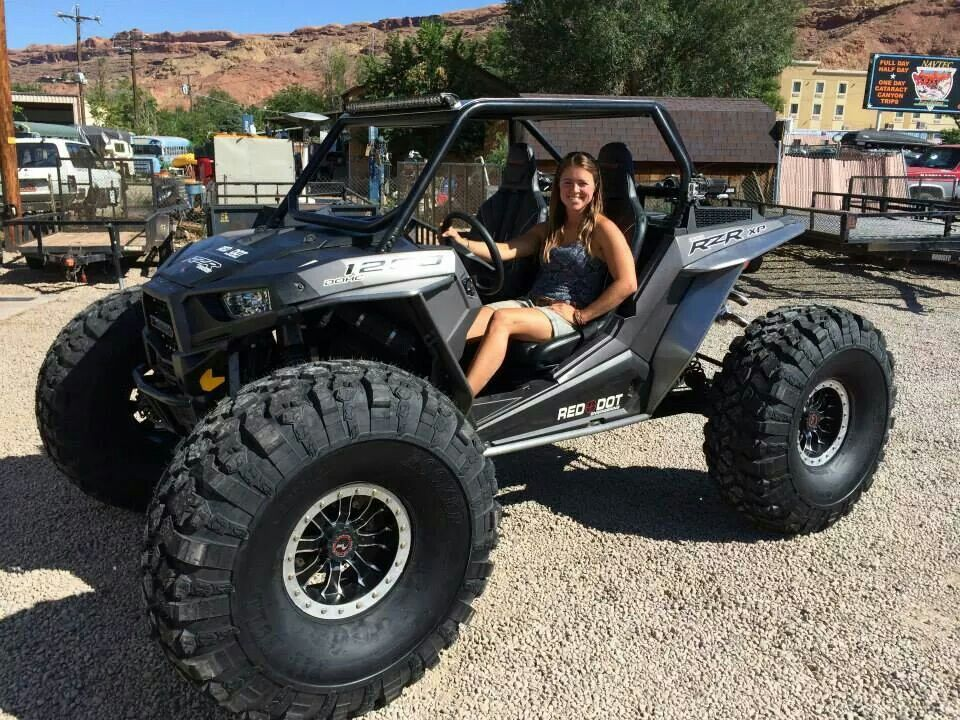Rzr 1200 On 42 Tires Zomg Wouldnt That Be Nice Monster