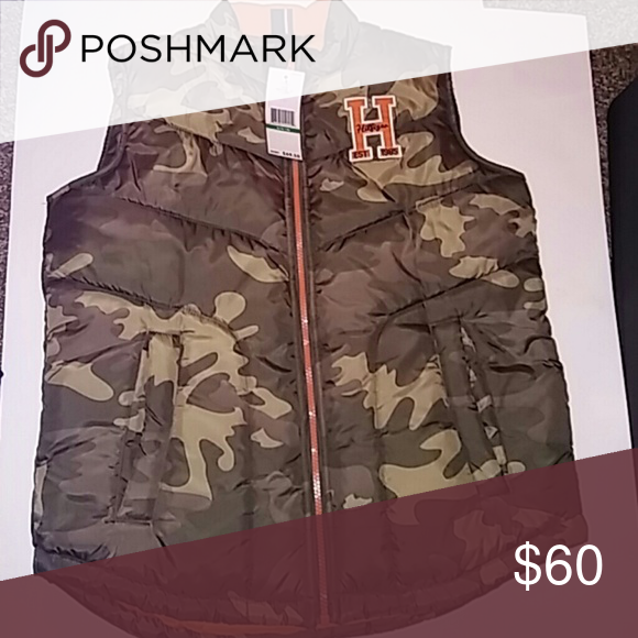 Tommy Hilfiger Bubble Vest *BlackFriday Price* Camo L (16/18) Tommy Hilfiger Jackets & Coats Vests