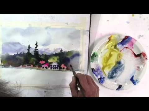 Creating A Centre Of Interest Pt 2 Watercolor Art Watercolour