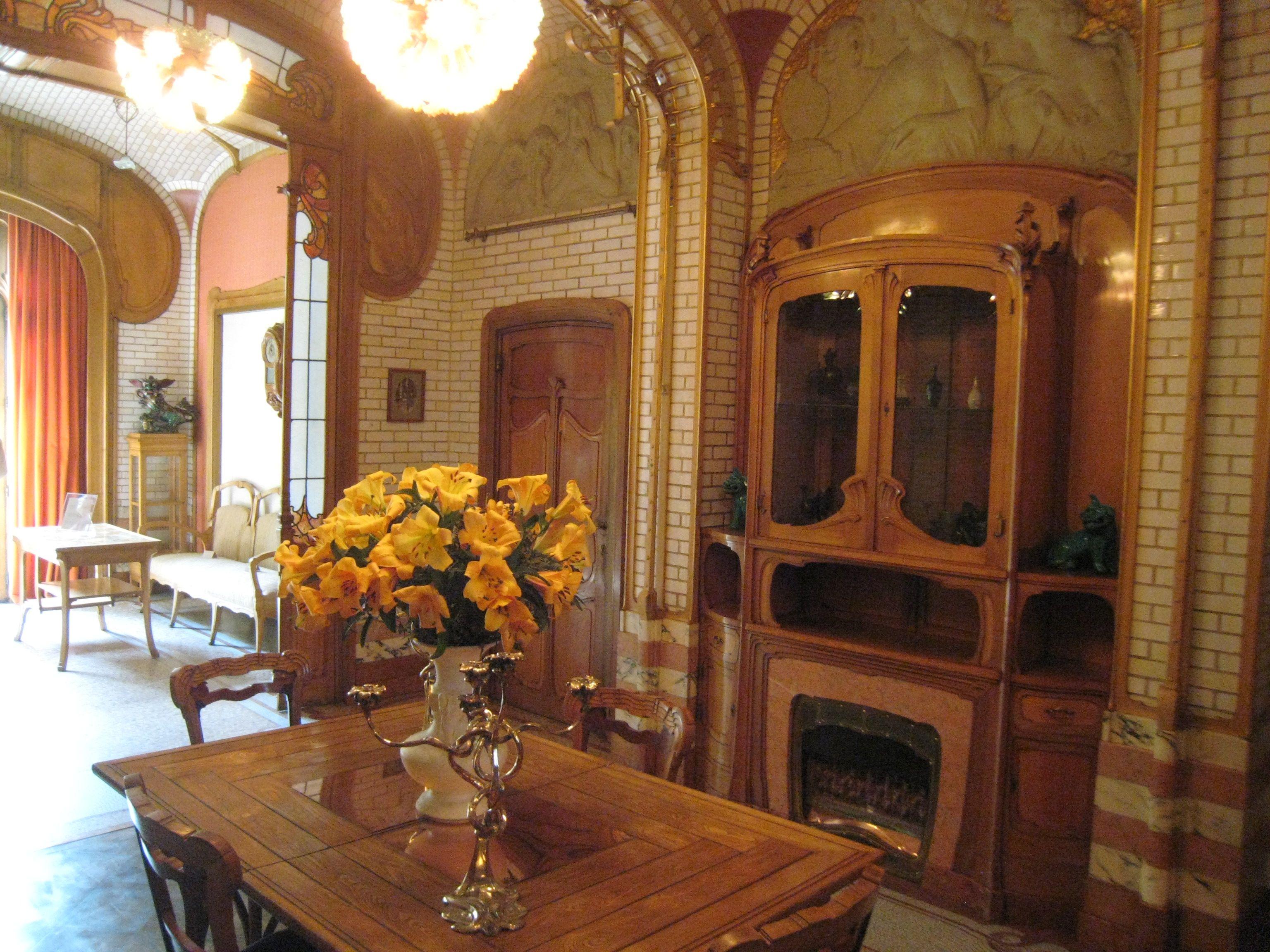Victor Horta Art Nouveau Art Gallery Interior House