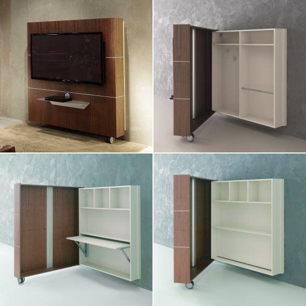 Soluzioni Salvaspazio Per Il Soggiorno Porta Tv Contenitore Sesamo Porta Tv Case Cucine