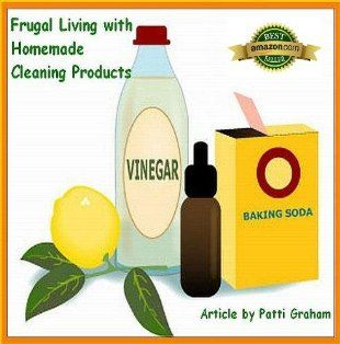 Frugal Living with Homemade Cleaning Products:Amazon ...