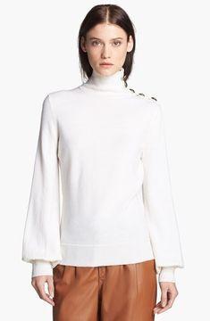 50c3368e286e Rachel+Zoe+'Margo'+Turtleneck+Sweater+Winter+White+Large+on+shopstyle.com
