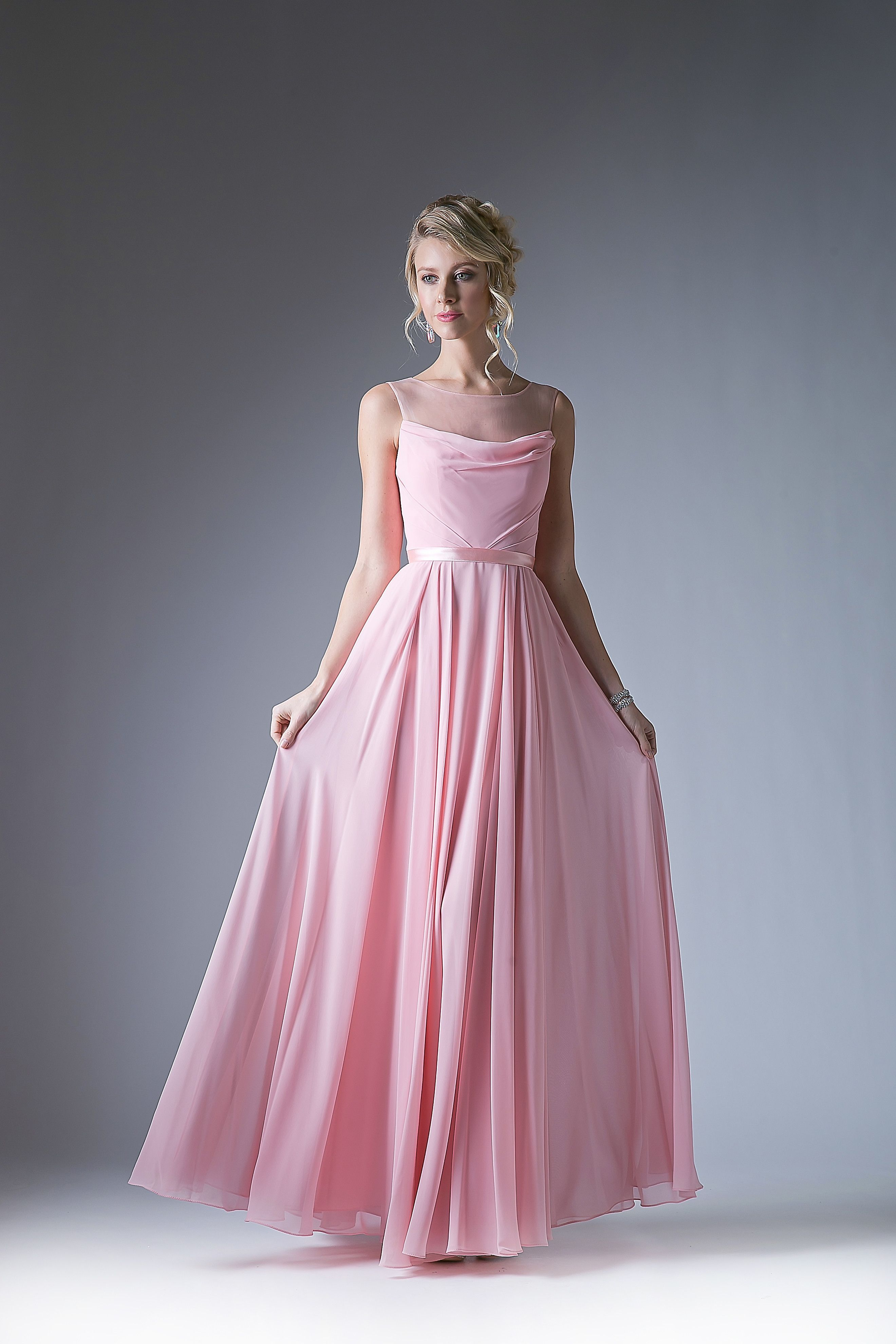 Bridesmaid Long Formal Plus Size Dress | Getting Fancy | Pinterest