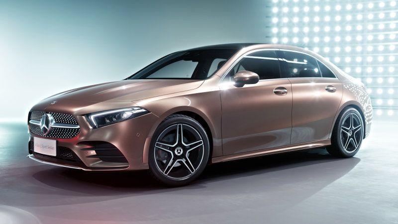 Mercedes A Class L Shown Previews Normal A Class Not Cla