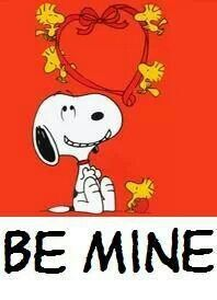 Be Mine\', a Valentine from Snoopy | Coloring pages - Snoopy ...