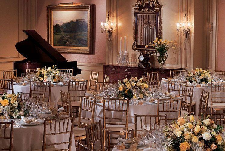 The Ritz Carlton Cleveland Wedding Reception