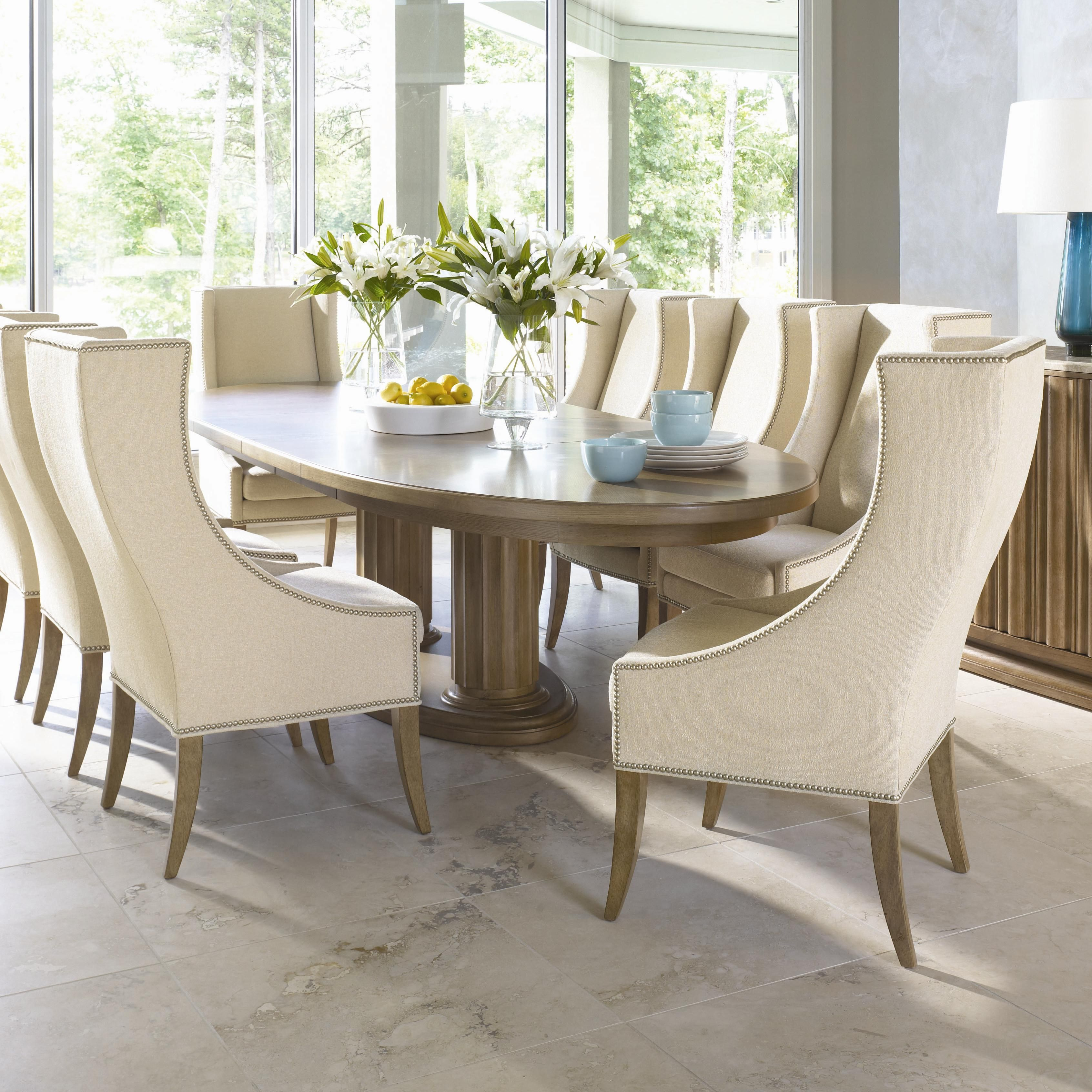 Monterey 9 Piece Table And Chair Setbernhardt  Kensington Inspiration Dining Room Upholstered Chairs Review
