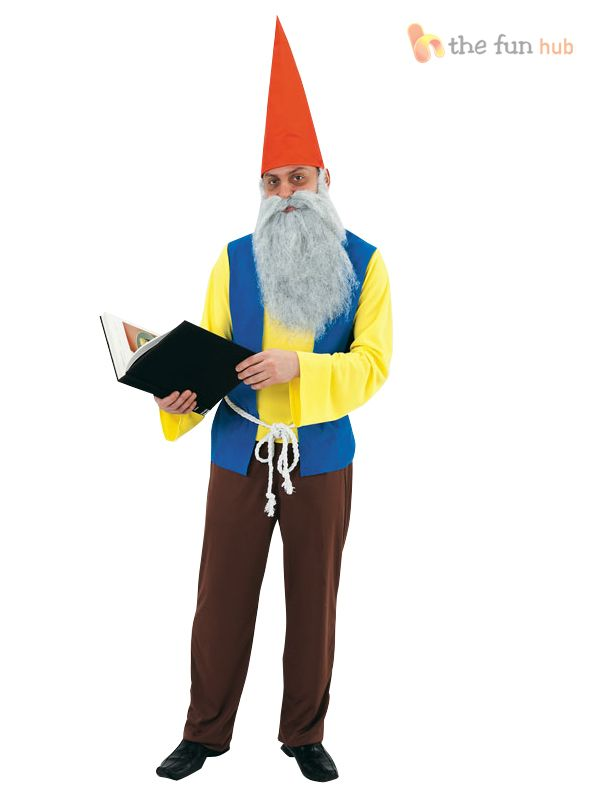 mens gnome dwarf fancy dress costume panto fairytale stag do