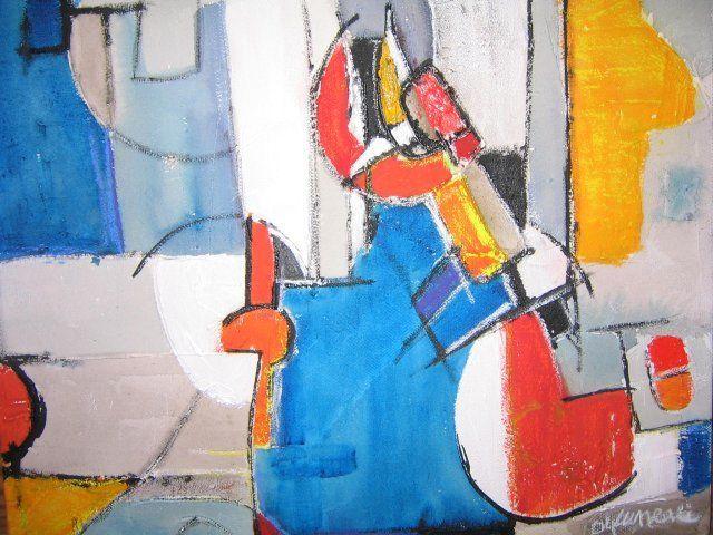 toiles / artwork 2004 - www.louluneau.com