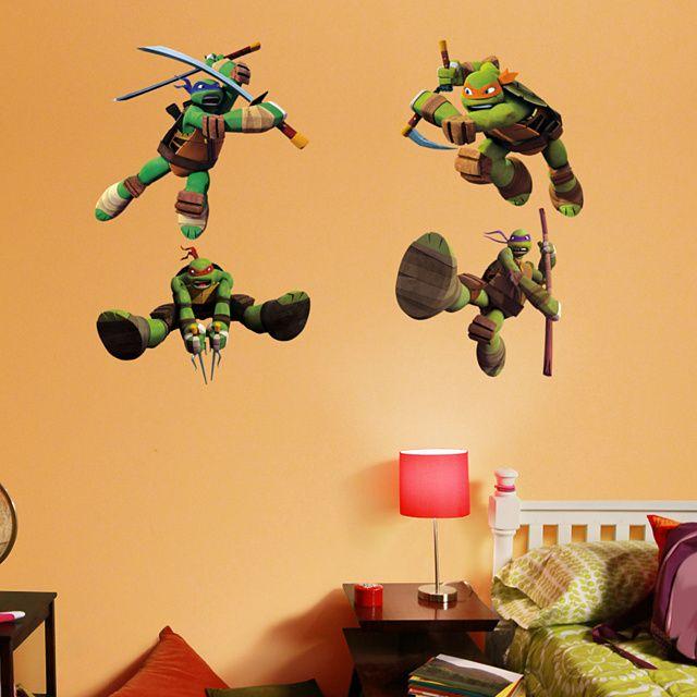 Teenage Mutant Ninja Turtles Collection Teenage Mutant Teenage - Ninja turtle wall decals