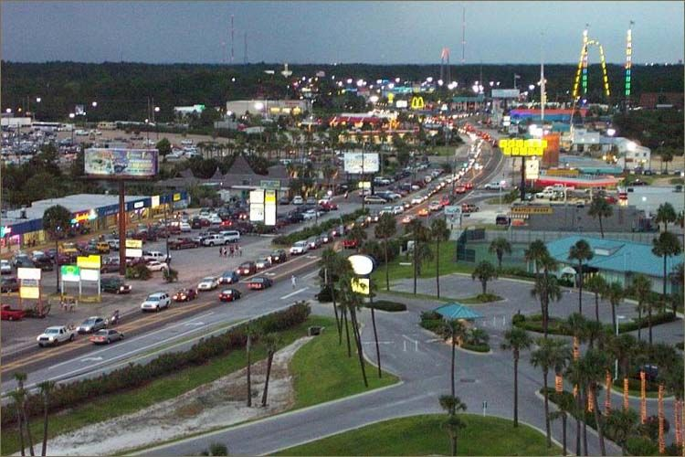 Panama City Beach Main Strip The Best Beaches In World