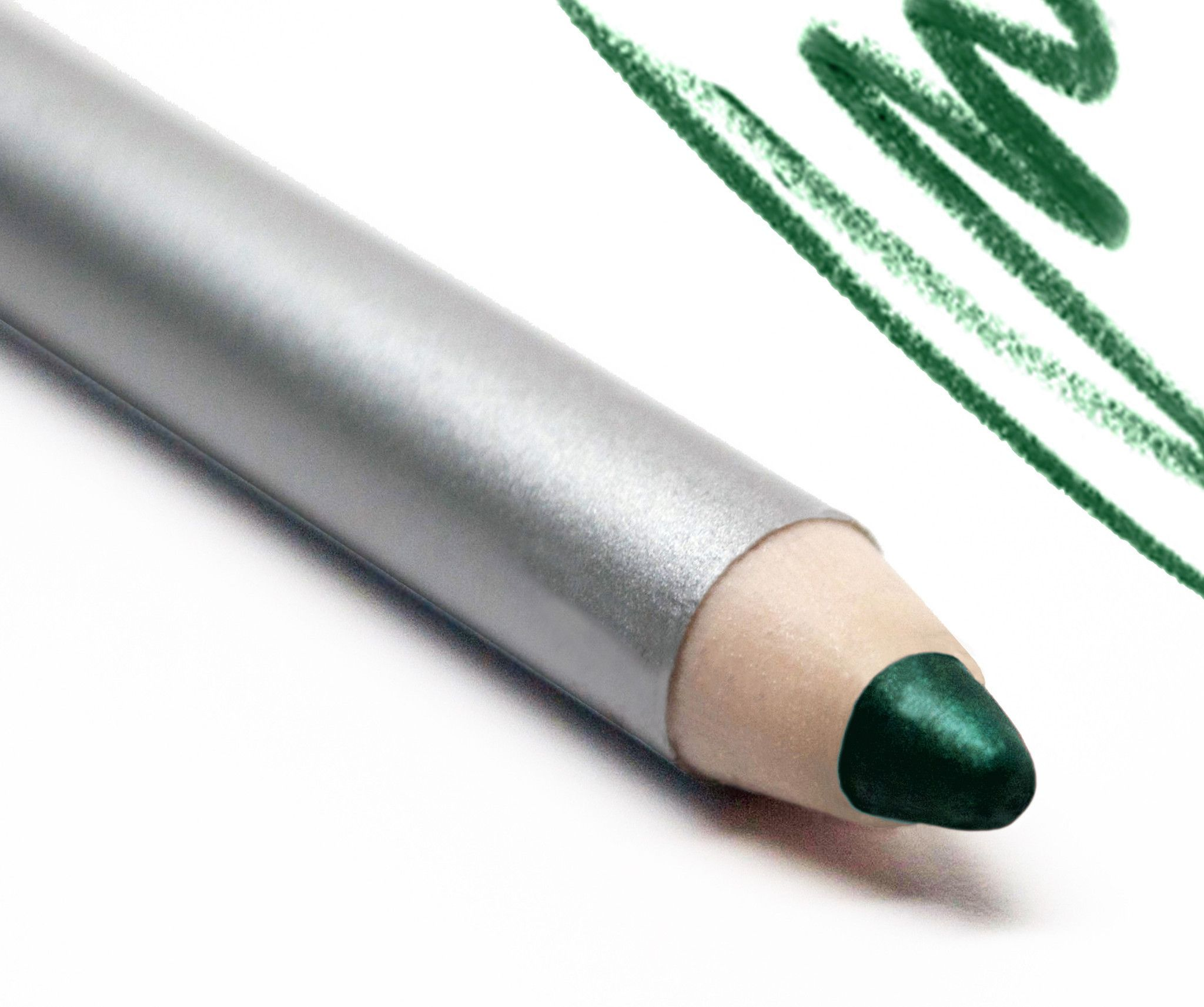 Au Naturale Eye Liner Pencil in Meadow A forest green