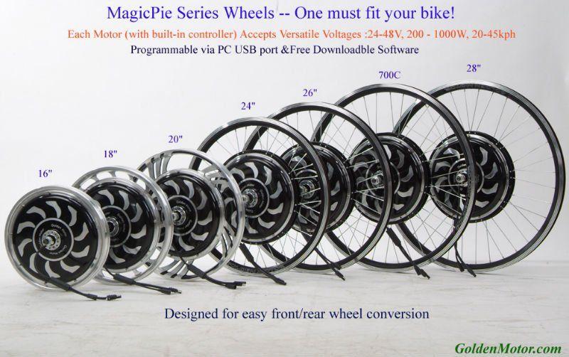 48v 1000w Electric Bicycle Hub Motor Cycling Parts