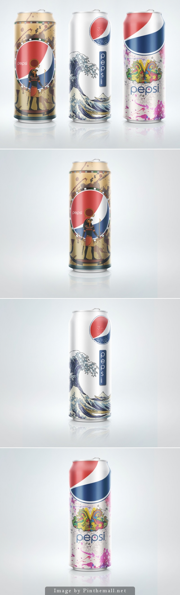 #Pepsi Can by Nguyen HaiDuong (Concept) - http://www.packagingoftheworld.com/2014/11/pepsi-can-concept.html