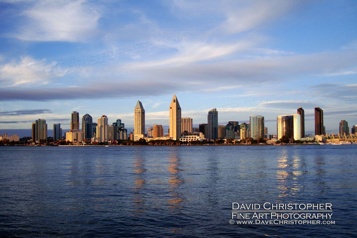 David Christopher With Images Landscape Photography Landscape San Diego Skyline