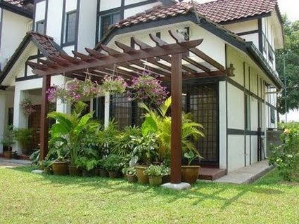 pergola designs attached to house 1