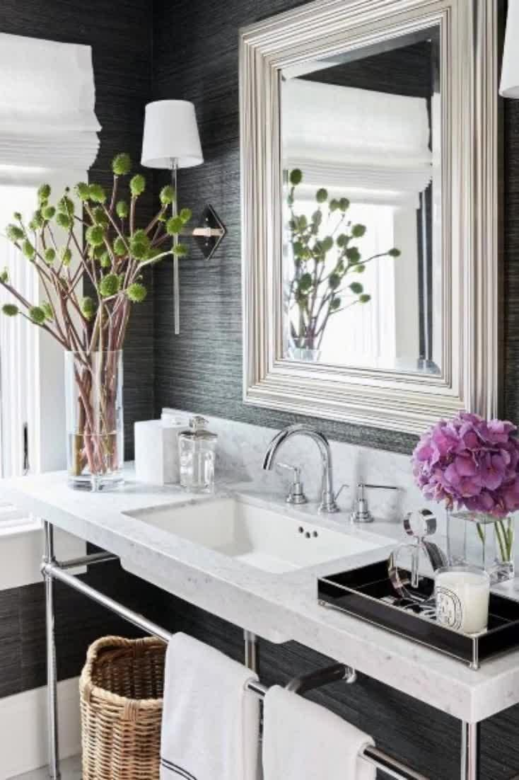 Photo of Top 50 best ideas for bathroom mirrors – reflective interiors