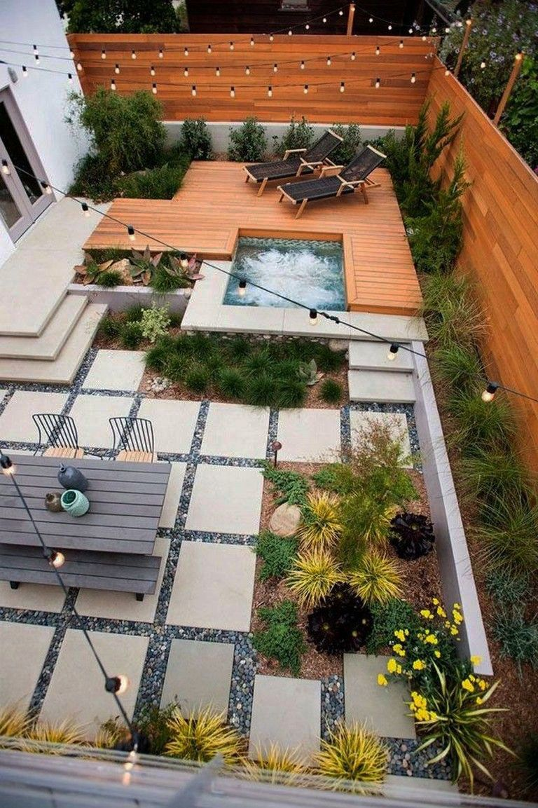 Cool And Contemporary Backyard Hardscape Ideas Patio Only In Tanzania Home Design Modern Backyard Landscaping Deck Designs Backyard Small Backyard Decks Contemporary backyard design with pool