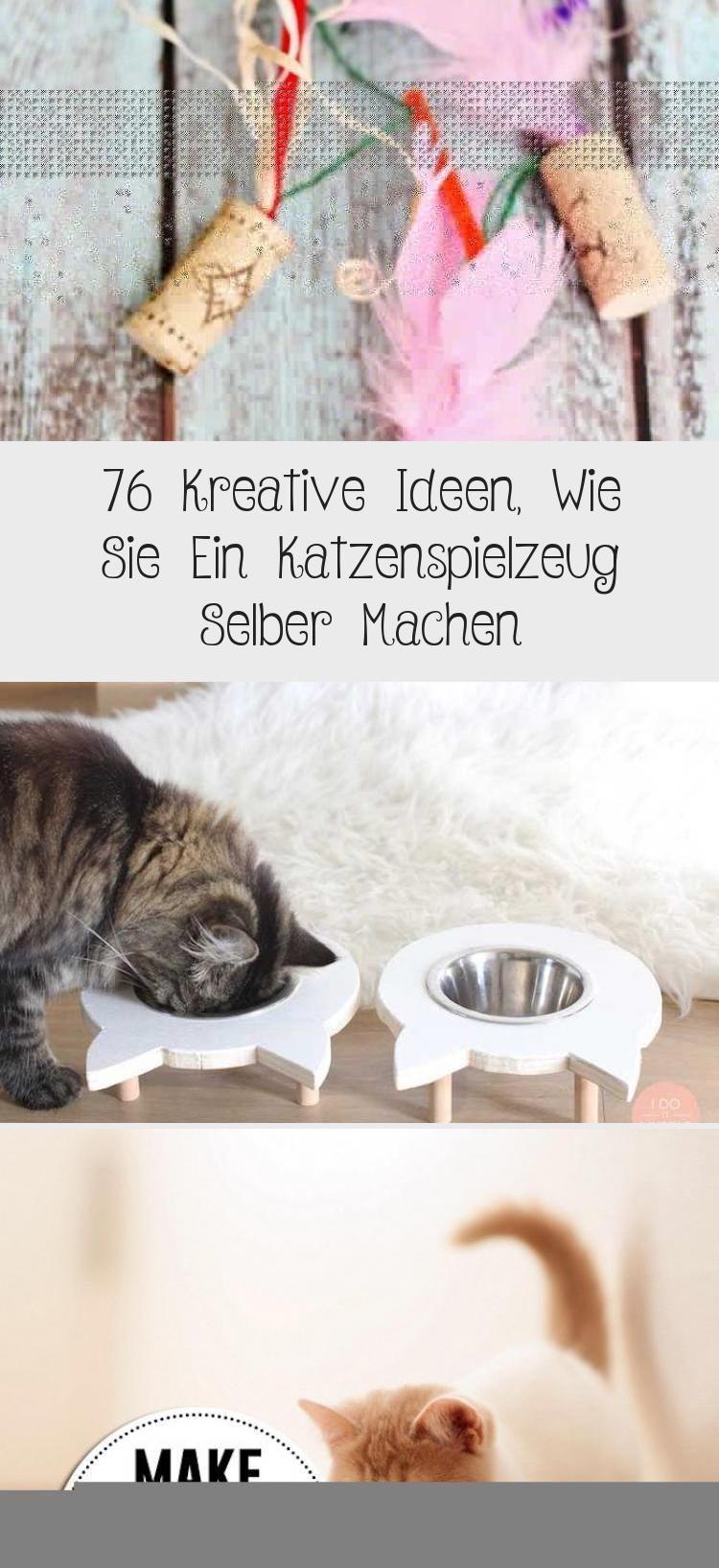 18+ 8 Kreative Ideen, Wie Sie Ein Katzenspielzeug Selber Machen ... Fotos