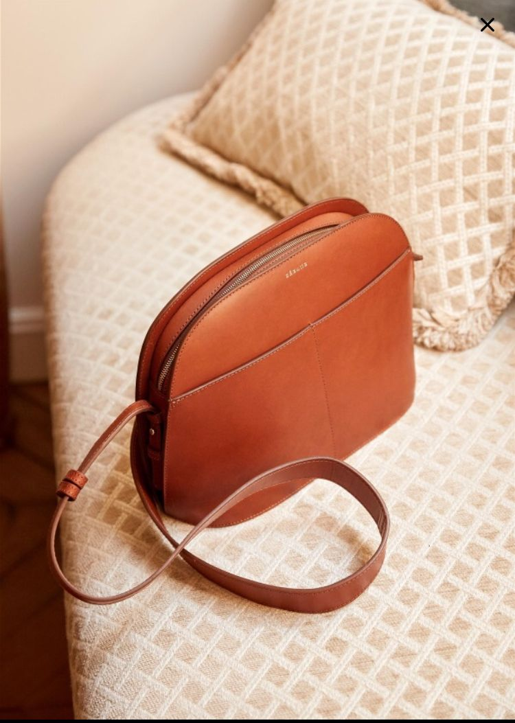 Sezane Victor Bag 2019 Bags Sunglasses Case Leather Handle