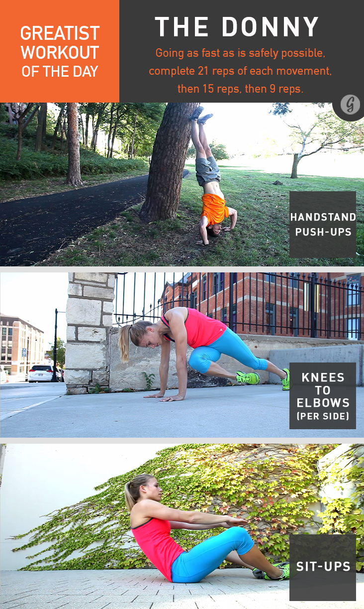 Greatist Workout of the Day: Tuesday, May 6th pics