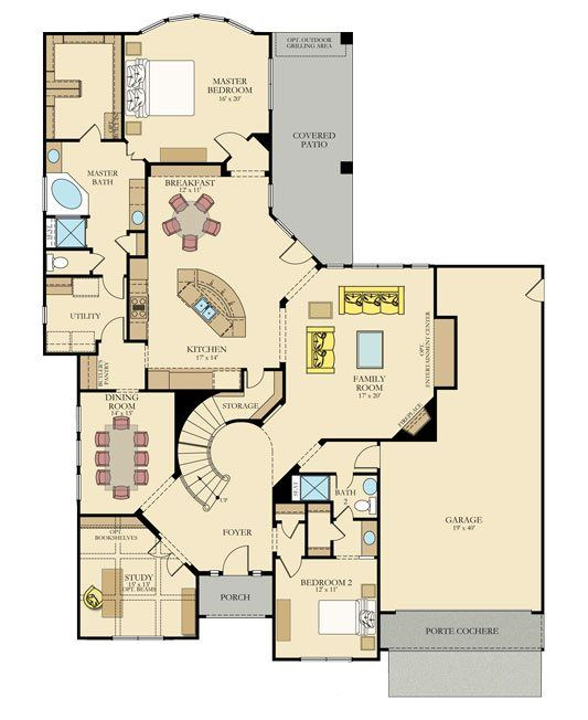 Pin By Karen Thornton On House Plans Floor Plans New House Plans House Plans