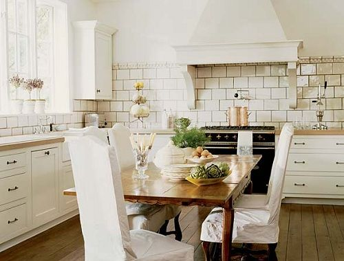 modern french country - mixing old world look with modern updates