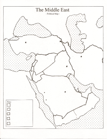 blank outline map of western asian countries - Google Search | 7th ...