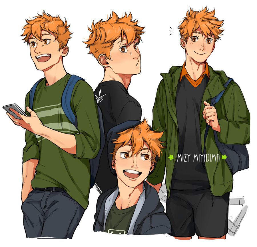 Read Haikyuu!! again and fell more in love with this lil