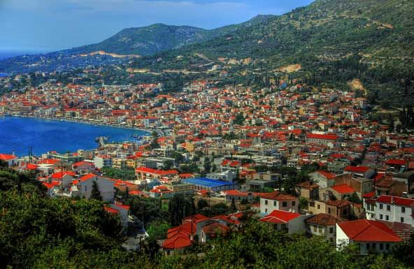 samos. greece.