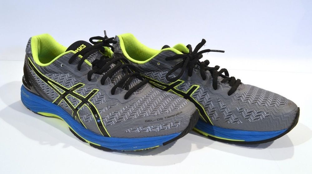 pretty nice 6f7d4 1a127 Mens Asics Gel-DS Trainer 22 Carbon/Black/Safety Yellow ...