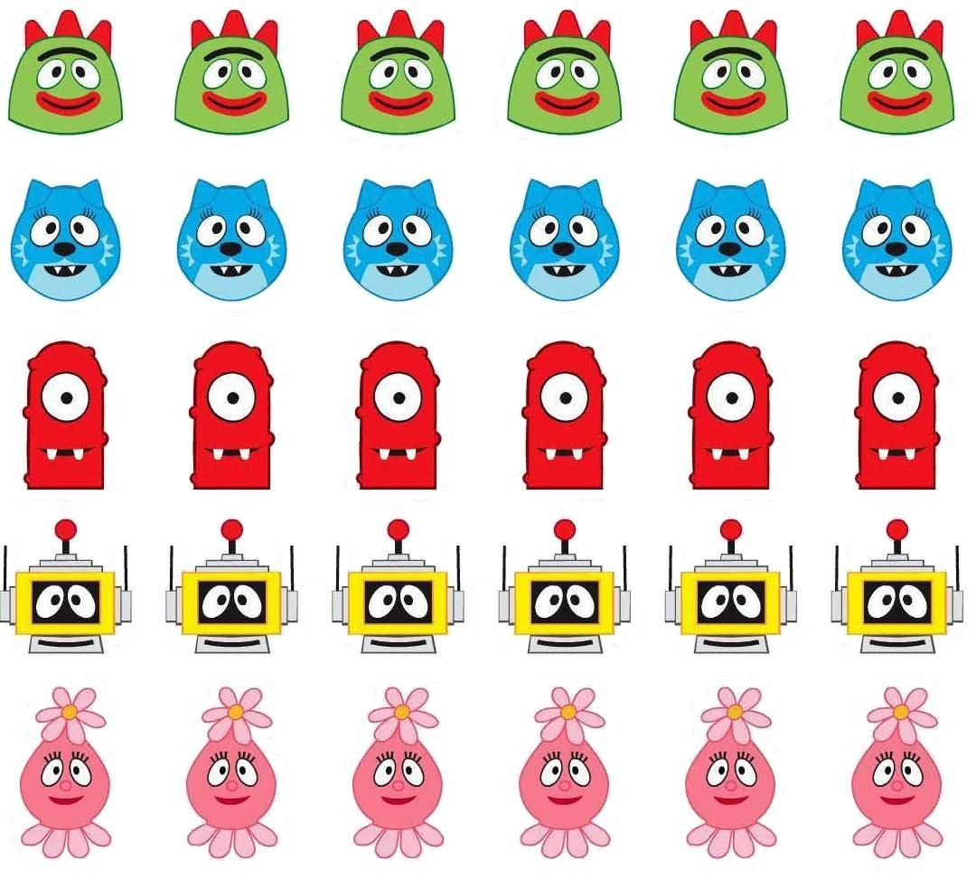 Yo Gabba Gabba images Can be used for a number of things