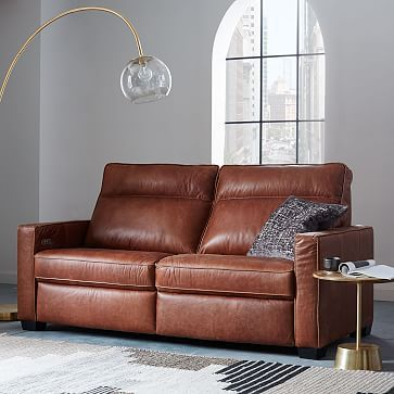 Henry 174 Leather Power Recliner Sofa 77 Quot Reclining Sofa