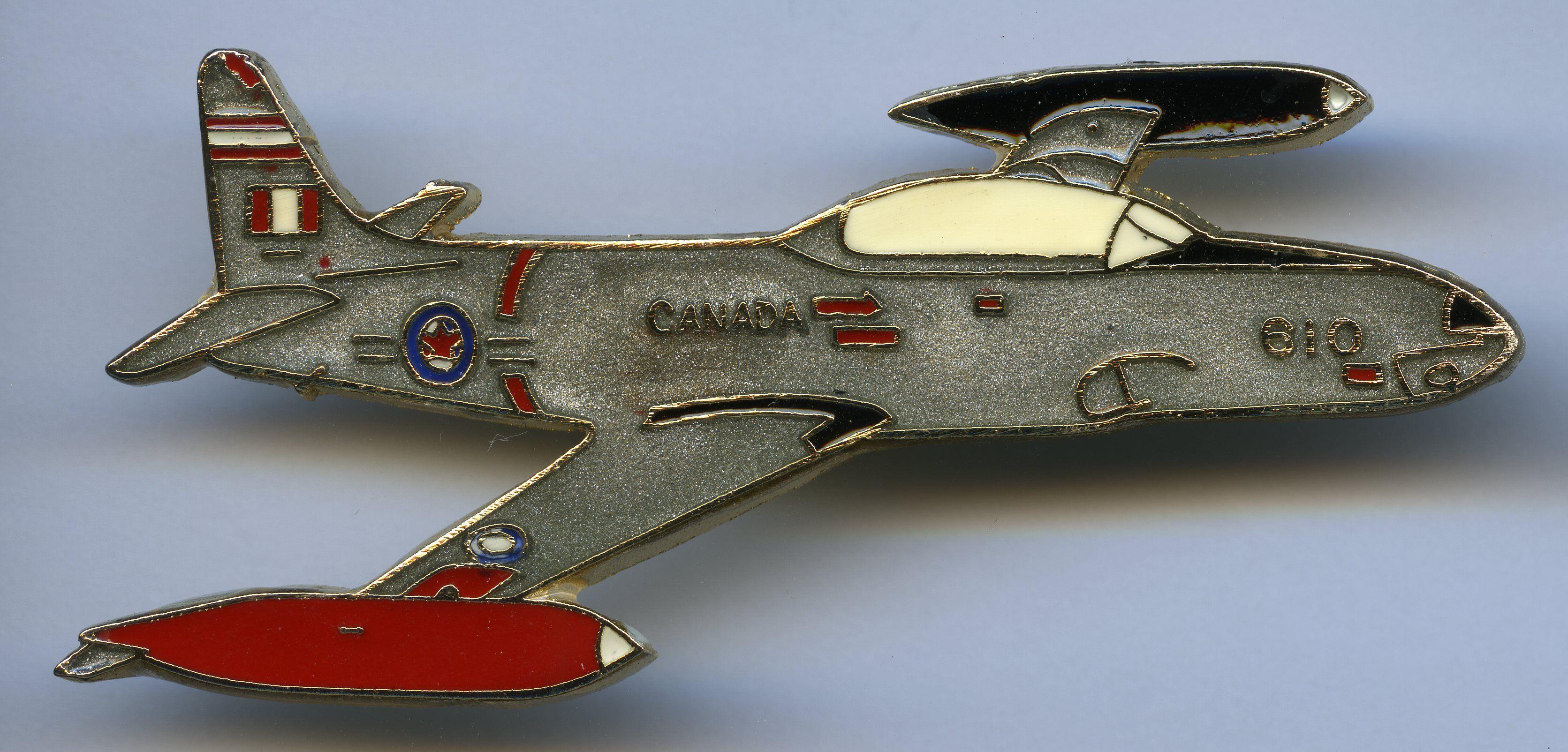 Canadair CT133 Silver Star pin (PKD Medley, Alberta