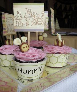 TheElegantArtist: Free Custom Cupcake Wrapper Templates