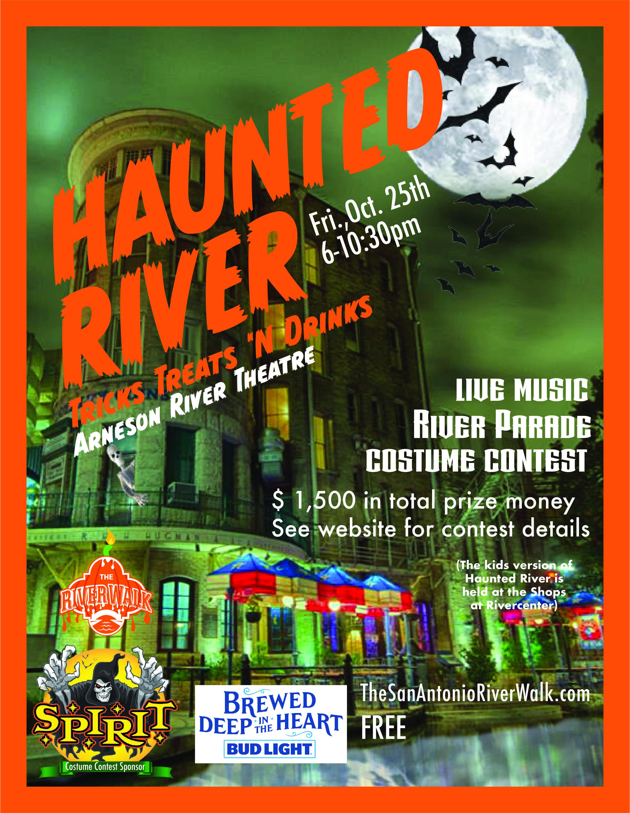San Antonio Riverwalk Halloween 2020 We're baa ack! (say in spooky voice) | San antonio river, River