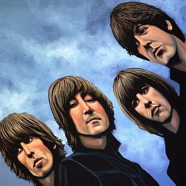The Beatles Rubber Soul Print By Paul Meijering