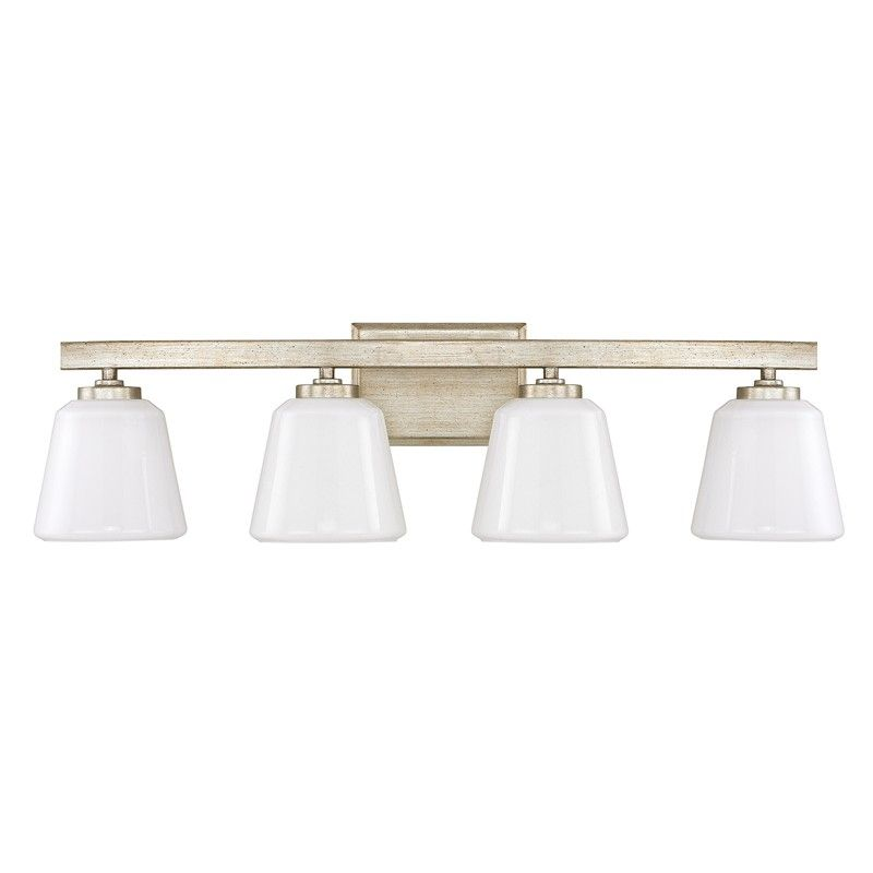 Master bath lighting 4 light vanity capital lighting fixture company