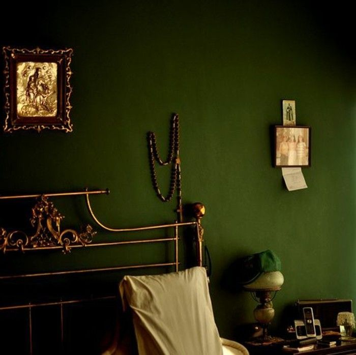 Wandfarbe Moosgrün schlafzimmer wandfarbe ideen in 140 fotos! | schlafzimmer ideen
