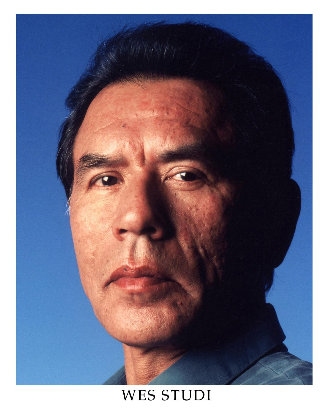 Cherokee Indian Wes Studi film maker