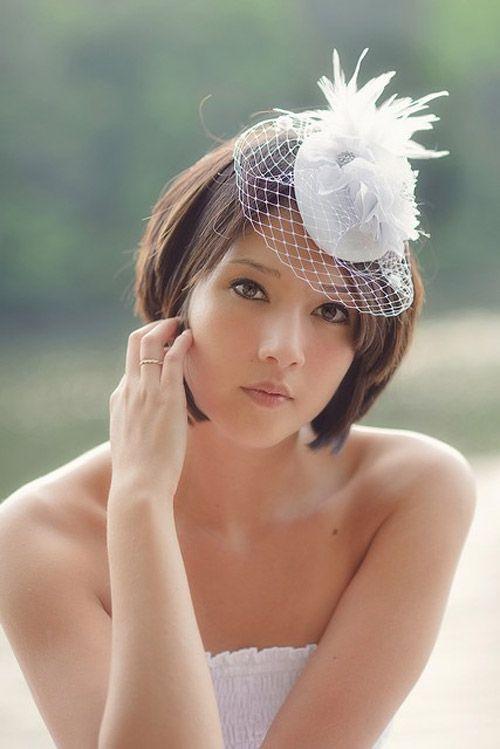 25 Best Wedding Hairstyles For Short Hair 2012 2013